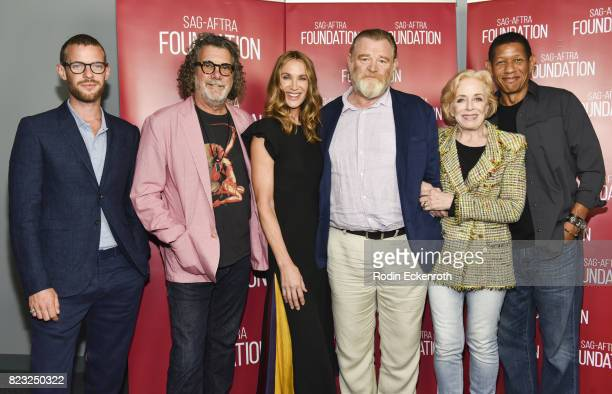Harry Treadaway Jack Bender Kelly Lynch Brendan Gleason Holland Taylor and Scott Lawrence attend the SAGAFTRA Foundation's Conversations with 'Mr...
