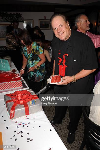 Harry Wayne Casey of KC and the Sunshine Band celebrates his 60th birthday at Joe's Stone Crab on February 6 2011 in Miami Beach Florida