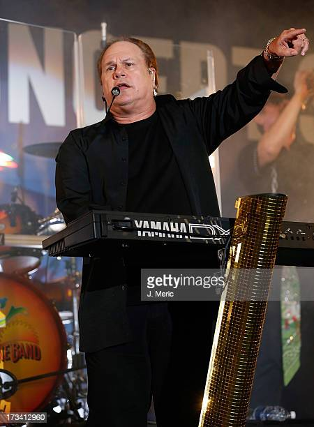 Harry Wayne Casey of KC and the Sunshine Band performs Saturday night during the Rays Summer Concert Series at Tropicana Field on July 13 2013 in St...