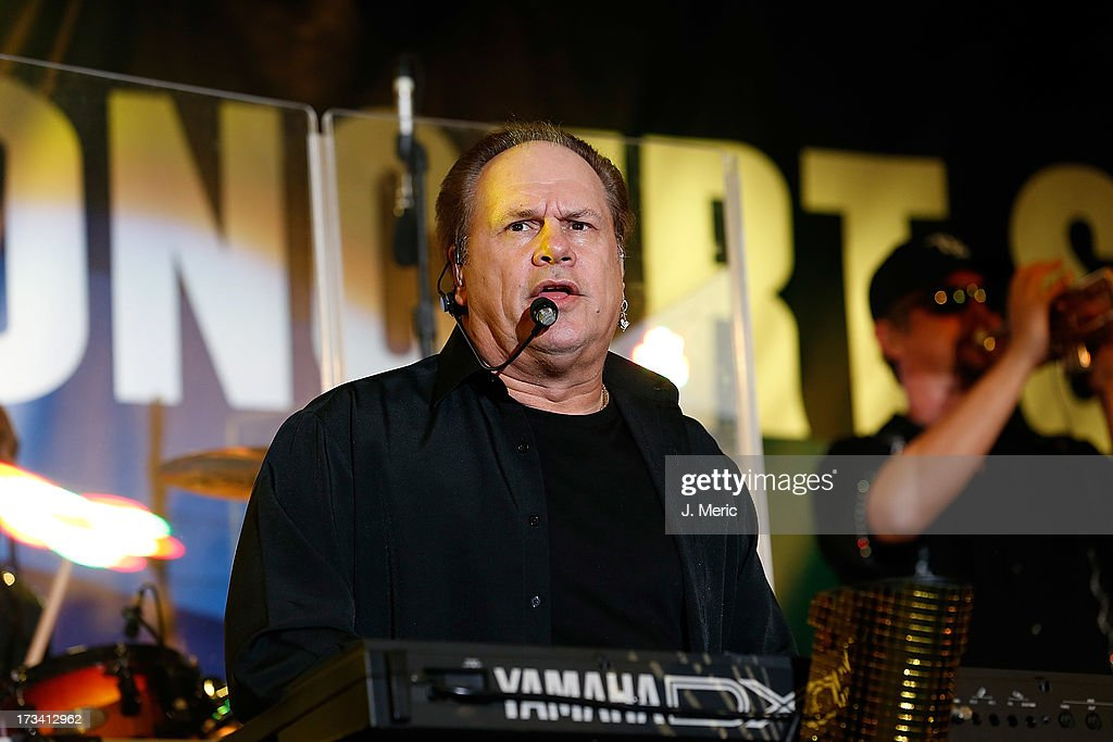 <a gi-track='captionPersonalityLinkClicked' href=/galleries/search?phrase=Harry+Wayne+Casey&family=editorial&specificpeople=227394 ng-click='$event.stopPropagation()'>Harry Wayne Casey</a> of KC and the Sunshine Band performs Saturday night during the Rays Summer Concert Series at Tropicana Field on July 13, 2013 in St Petersburg, Florida.