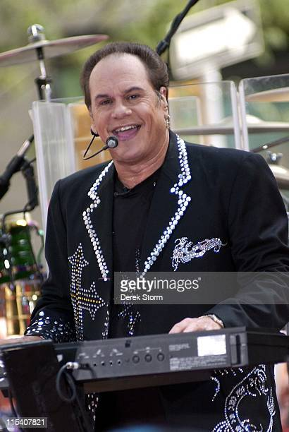 Harry Wayne Casey of KC The Sunshine Band during KC The Sunshine Band Perform on NBC's 'The Today Show' July 14 2006 at Rockefeller Center in New...