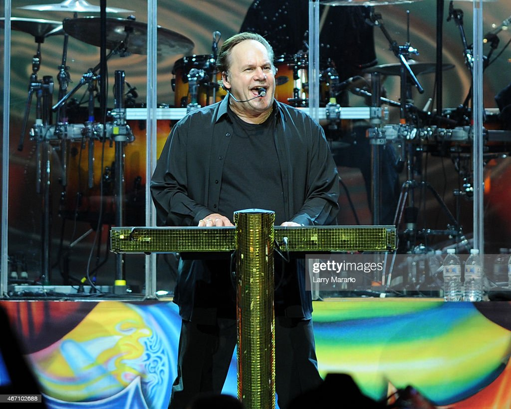 Harry Wayne 'K.C.' Casey of KC & The Sunshine Band performs at Hard Rock Live! in the Seminole Hard Rock Hotel & Casino on March 20, 2015 in Hollywood, Florida.