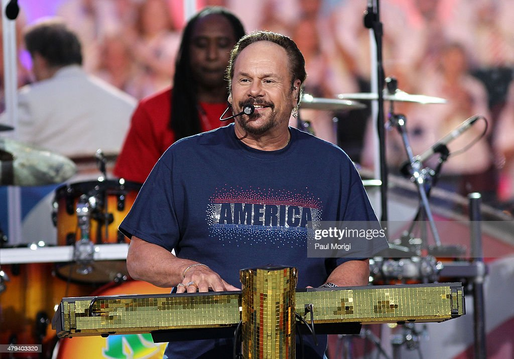 Harry Wayne 'KC' Casey performs with KC and The Sunshine Band at A Capitol Fourth 2015 Independence Day Concert dress rehearsals on July 3, 2015 in Washington, DC.