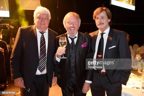 Harry Wijnvoord Werner Schulze Erdel and Joerg Drager attend the 'Goldene Sonne 2017' Award by SonnenklarTV on May 13 2017 in Kalkar Germany