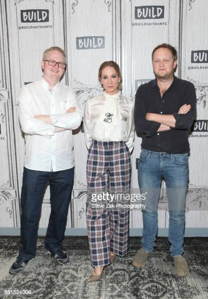 Harry Williams Joanna Froggatt and Jack Williams attend Build Series to discuss 'Liar' at Build Studio on September 22 2017 in New York City