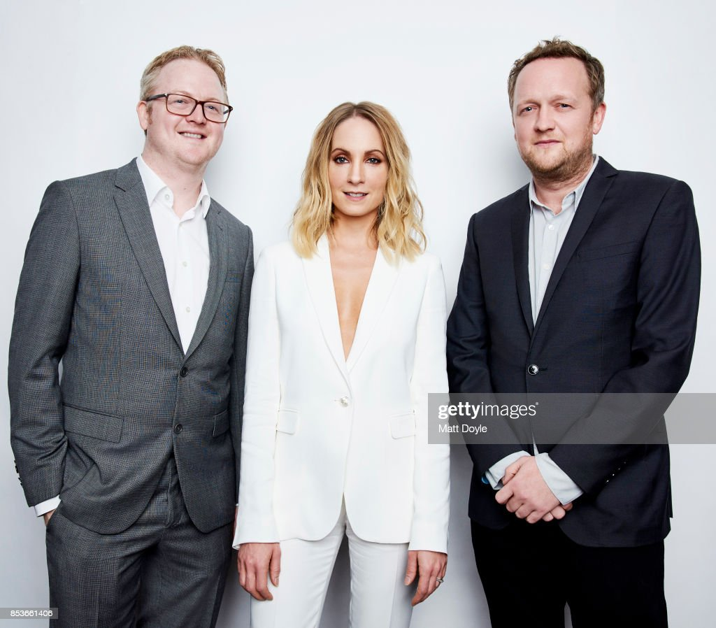 Harry Williams, Joanne Froggatt and Jack Williams pose for a portrait at the Tribeca TV festival at Cinepolis Chelsea on September 23, 2017.