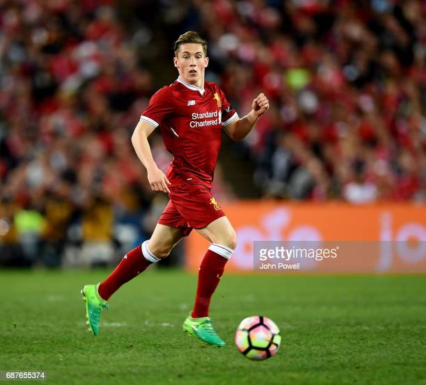 Harry Wilson of Liverpool during the International Friendly match between Sydney FC and Liverpool FC at ANZ Stadium on May 24 2017 in Sydney Australia