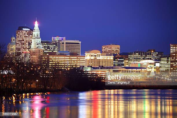 Hartford Skyline along the Connecticut River