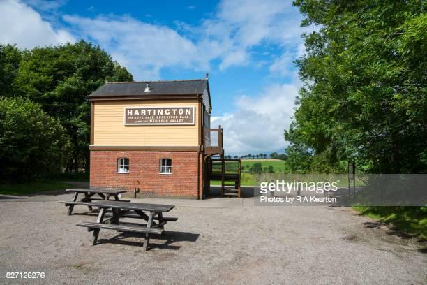 Hartington signal box, Tissington trail, Peak District, Derbyshire