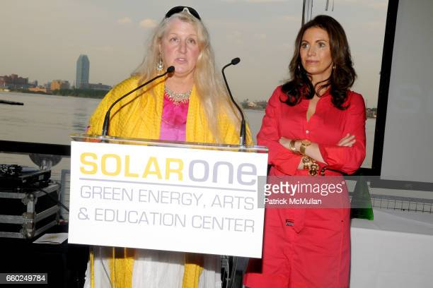 Hartley DuPont and Jane Steiner Hoffman at SOLAR 1's Revelry By The River Honors MATTHEW MODINE KICK KENNEDY HSBC at Stuyvesant Cove on June 2 2009...