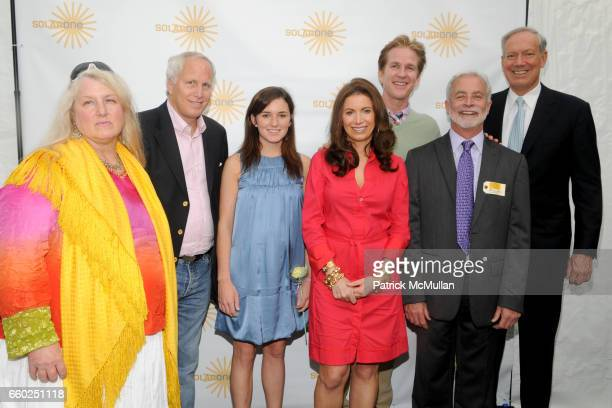 Hartley DuPont Michael Hoffman Kick Kennedy Jane Steiner Hoffman Matthew Modine and Christopher Collins George Pataki at SOLAR 1's Revelry By The...