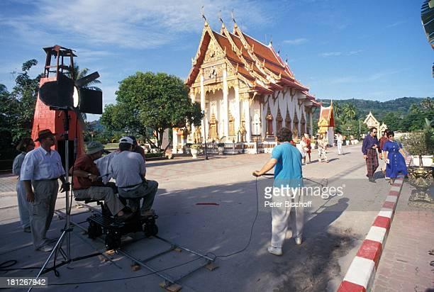 Hartmut Becker Conny Glogger Drehteam Dreharbeiten zur PRO 7 Serie 'Glueckliche Reise ' Folge 26 'Thailand' Phuket/SuedOstAsien Episode 2...