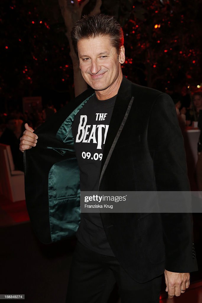 Hartmut Engler attends the 18th Annual Jose Carreras Gala on December 13, 2012 in Leipzig, Germany.