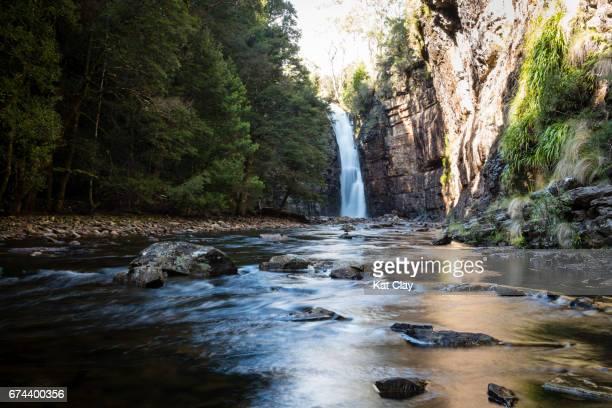 Hartnett Falls on Overland Track
