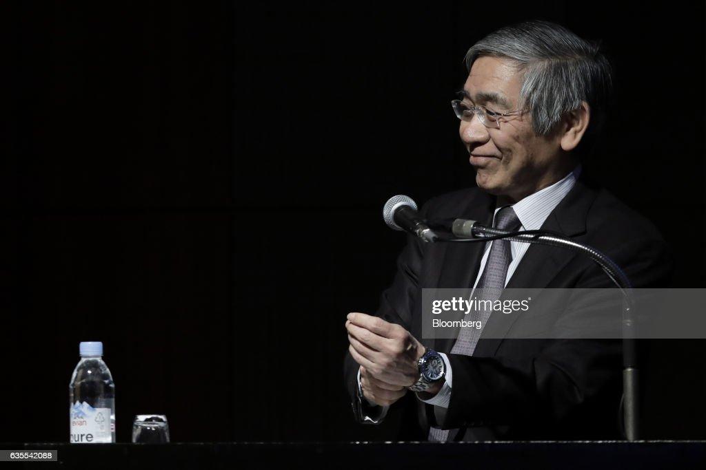 Bank of Japan Governor Haruhiko Kuroda Speaks At  DICJ-IADI International Conference