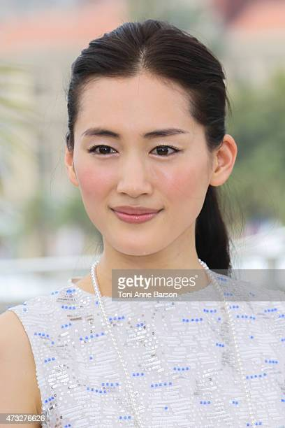 Haruka Ayase attends the 'Notre Petite Soeur' photocall during the 68th annual Cannes Film Festival on May 14 2015 in Cannes France