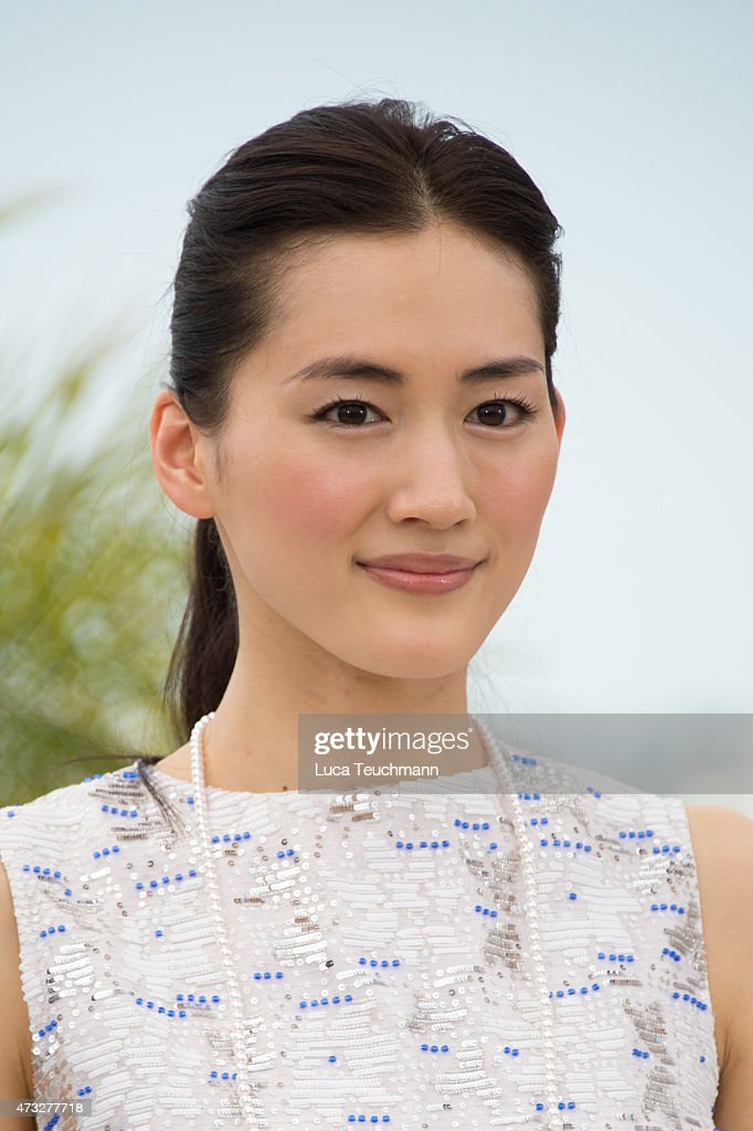 <a gi-track='captionPersonalityLinkClicked' href=/galleries/search?phrase=Haruka+Ayase&family=editorial&specificpeople=4451163 ng-click='$event.stopPropagation()'>Haruka Ayase</a> attends the 'Notre Petite Soeur' photocall during the 68th annual Cannes Film Festival on May 14, 2015 in Cannes, France.