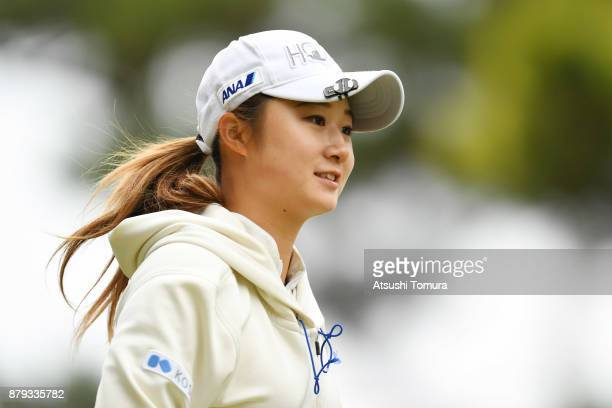 Haruka Morita of Japan looks on during the final round of the LPGA Tour Championship Ricoh Cup 2017 at the Miyazaki Country Club on November 26 2017...