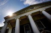 Harvard University's Business School stands in Cambridge Massachusetts US on Monday Aug 6 2012 Harvard University an American private Ivy League...