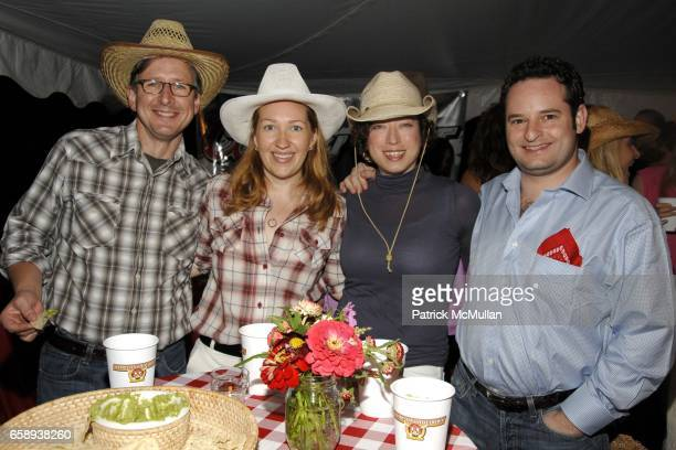 Harvard Winters Natasha Fekula Elizabeth Gordon and Frank Cappello attend HAMPTONS HOEDOWN Hosted by The DORRIAN and TASHJIAN Families at Private...