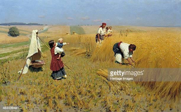 Harvest in Ukraine 1886 Found in the collection of the Regional Art Museum Volgograd