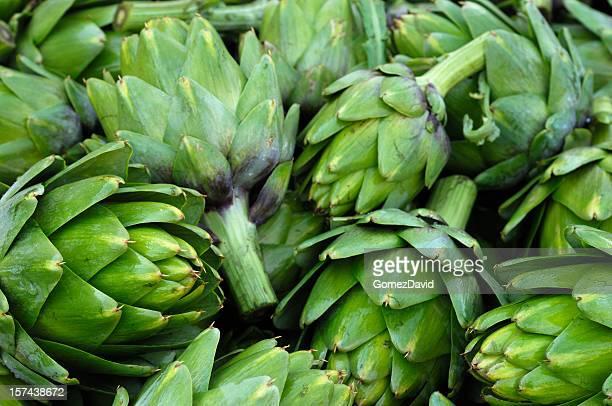 Récoltés artichauts en bois Bin