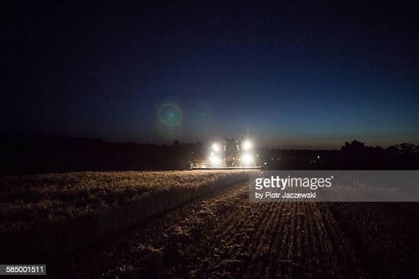 Harvester lights