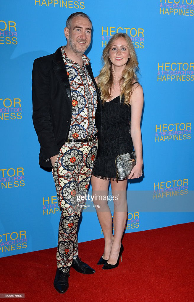 Harvey B. Brown and Diana Vickers attend the UK Premiere of 'Hector And The Search For Happiness' at Empire Leicester Square on August 13, 2014 in London, England.