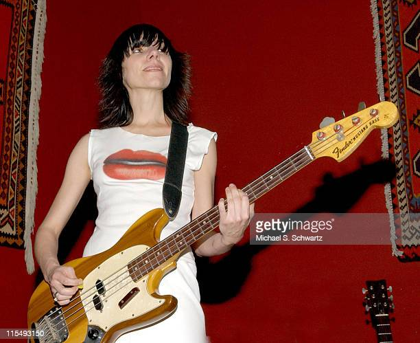 PJ Harvey during Moris Tepper with PJ Harvey Perform at The Tangiers Restaurant in Los Angeles January 27 2006 at The Tangiers Restaurant in Los...