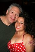 Harvey Fierstein and Marissa Jaret Winokur 'Hairspray ' Costars