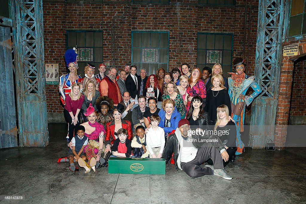 <a gi-track='captionPersonalityLinkClicked' href=/galleries/search?phrase=Harvey+Fierstein&family=editorial&specificpeople=206751 ng-click='$event.stopPropagation()'>Harvey Fierstein</a>, Andy Kelso ,<a gi-track='captionPersonalityLinkClicked' href=/galleries/search?phrase=Cyndi+Lauper&family=editorial&specificpeople=171290 ng-click='$event.stopPropagation()'>Cyndi Lauper</a>, <a gi-track='captionPersonalityLinkClicked' href=/galleries/search?phrase=Billy+Porter&family=editorial&specificpeople=787592 ng-click='$event.stopPropagation()'>Billy Porter</a> and cast attend 'Kinky Boots' one year anniversary on Broadway at The Hirshfeld Theatre on April 6, 2014 in New York City.