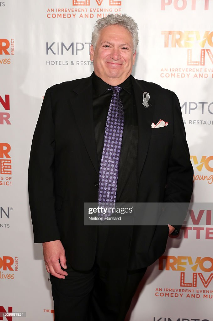 Harvey Fierstein attends The Trevor Project's TrevorLIVE New York on June 13 2016 in New York City