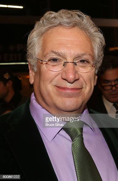 Harvey Fierstein poses at the Opening Night for 'The Color Purple' on Broadway at The Bernard B Jacobs Theatre on December 10 2015 in New York City