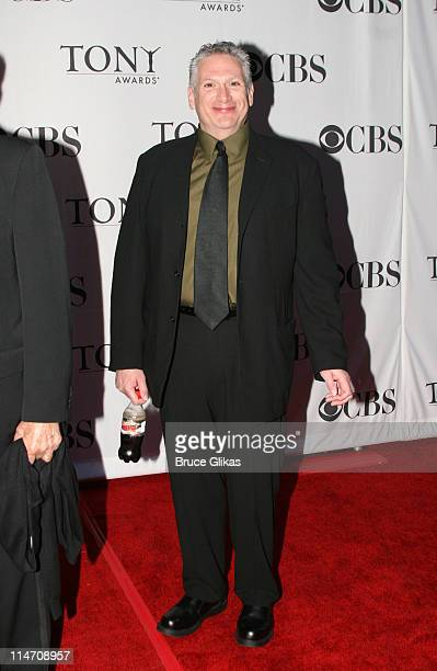 Harvey Fierstein presenter during 60th Annual Tony Awards Arrivals at Radio City Music Hall in New York City New York United States