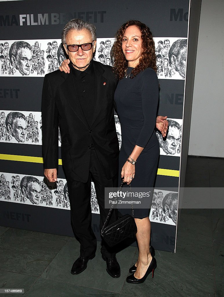 <a gi-track='captionPersonalityLinkClicked' href=/galleries/search?phrase=Harvey+Keitel&family=editorial&specificpeople=213151 ng-click='$event.stopPropagation()'>Harvey Keitel</a> and <a gi-track='captionPersonalityLinkClicked' href=/galleries/search?phrase=Daphna+Kastner&family=editorial&specificpeople=2077076 ng-click='$event.stopPropagation()'>Daphna Kastner</a> attend A Tribute To Quentin Tarantino at MOMA on December 3, 2012 in New York City.