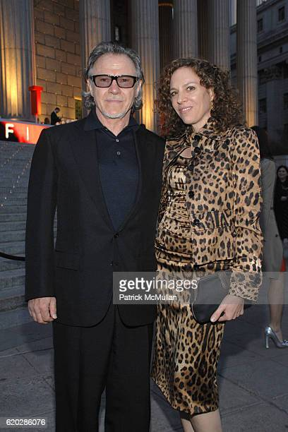 Harvey Keitel and Daphna Kastner attend VANITY FAIR Tribeca Film Festival Party hosted by GRAYDON CARTER ROBERT DE NIRO and RONALD PERELMAN at The...