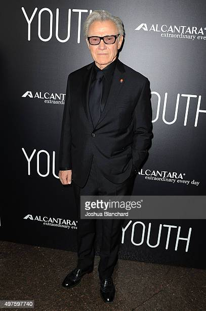 Harvey Keitel arrives at the premiere of Fox Searchlight Pictures' 'Youth' at DGA Theater on November 17 2015 in Los Angeles California