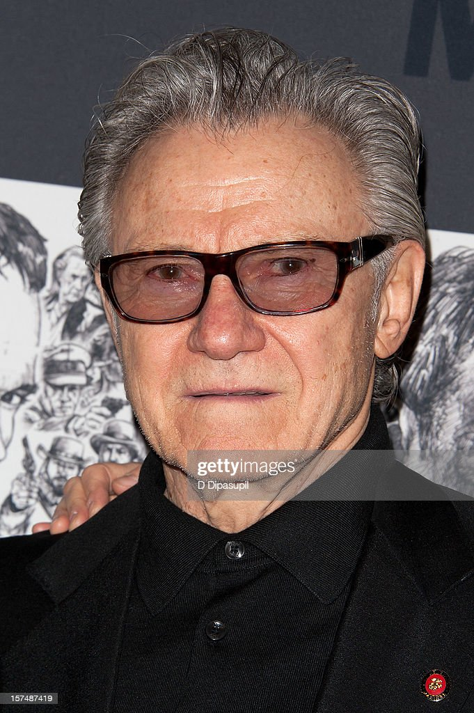 Harvey Keitel attends the Museum of Modern Art film benefit honoring Quentin Tarantino on December 3, 2012 in New York City.