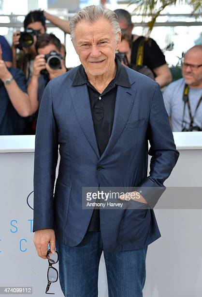 Harvey Keitel attends the 'Youth' photocall during the 68th annual Cannes Film Festival on May 20 2015 in Cannes France