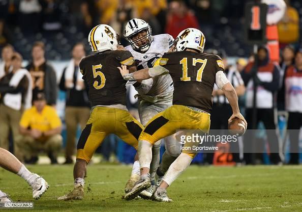 NCAA FOOTBALL: DEC 21 Poinsettia Bowl - BYU v Wyoming ...