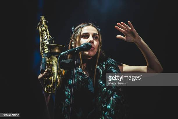 Harvey performing live on stage at the TODays Festival 2017 at Spazio211 in Torino