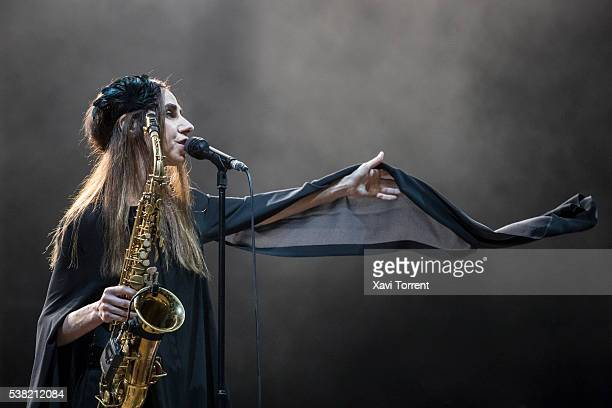 Harvey performs in concert during day 4 of Primavera Sound on June 4 2016 in Barcelona Spain