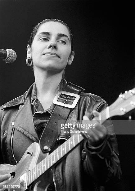 Harvey vocals and guitar performs on June 12th 1992 at the Melkweg in Amsterdam Netherlands