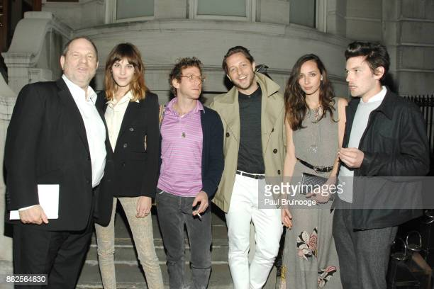 Harvey Weinstein Alexa Chung Dustin Yellin Derek Blasberg Rebecca Dayan and Guest attend NY Special Screening of THE INTOUCHABLES presented by...