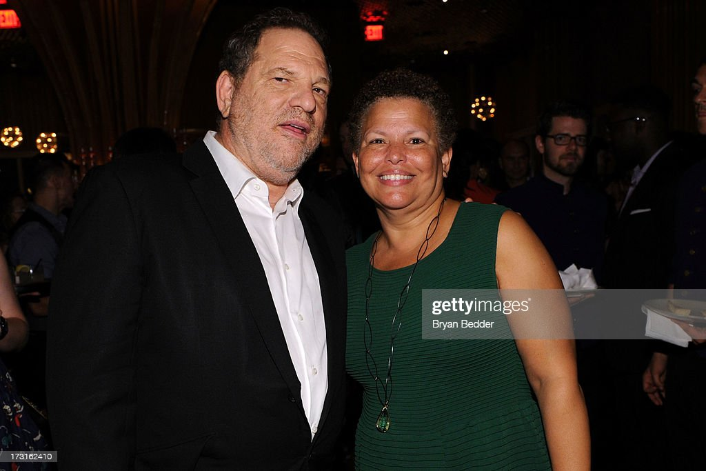 Harvey Weinstein and CEO of BET Debra L. Lee attend the after party at the New York premiere of FRUITVALE STATION, hosted by The Weinstein Company, BET Films and CIROC Vodka on July 8, 2013 in New York City.