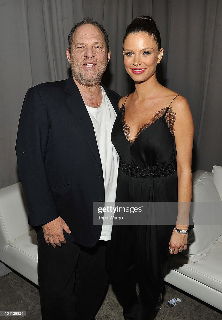 Harvey Weinstein and Georgina Chapman attend Marchesa S/S 2011 Presentation at Chelsea Art Museum on September 15, 2010 in New York City.