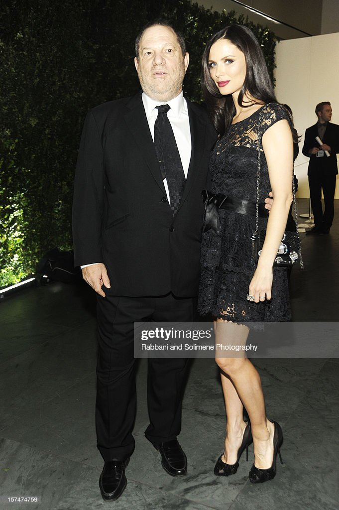 <a gi-track='captionPersonalityLinkClicked' href=/galleries/search?phrase=Harvey+Weinstein&family=editorial&specificpeople=201749 ng-click='$event.stopPropagation()'>Harvey Weinstein</a> and Georgina Chapman attends The Museum of Modern Art 5th annual Film Benefit honoring Quentin Tarantino at MOMA on December 3, 2012 in New York City.