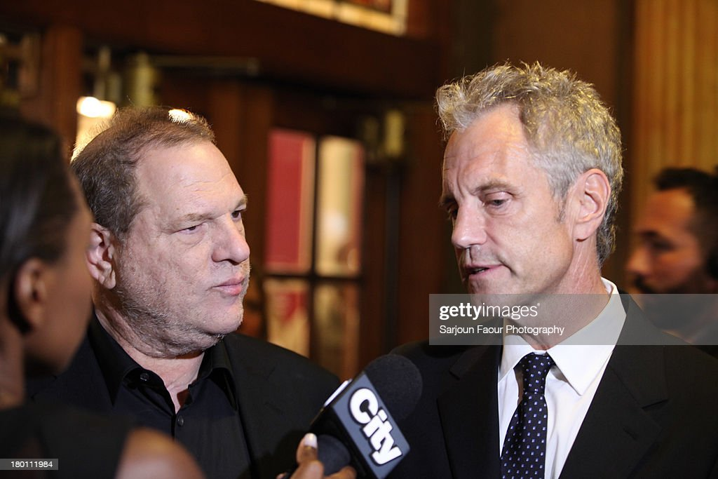 <a gi-track='captionPersonalityLinkClicked' href=/galleries/search?phrase=Harvey+Weinstein&family=editorial&specificpeople=201749 ng-click='$event.stopPropagation()'>Harvey Weinstein</a> and <a gi-track='captionPersonalityLinkClicked' href=/galleries/search?phrase=John+Sykes+-+American+Businessman&family=editorial&specificpeople=211436 ng-click='$event.stopPropagation()'>John Sykes</a> attend the '12.12.12.' premiere during the 2013 Toronto International Film Festival at Winter Garden Theatre on September 8, 2013 in Toronto, Canada.
