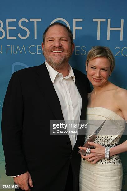 Harvey Weinstein and Renee Zellweger