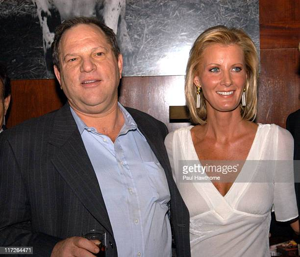 Harvey Weinstein and Sandra Lee during Launch of Sandra Lee's New SemiHomemade Holidays Magazine and Food Network Show in Conjunction with the...